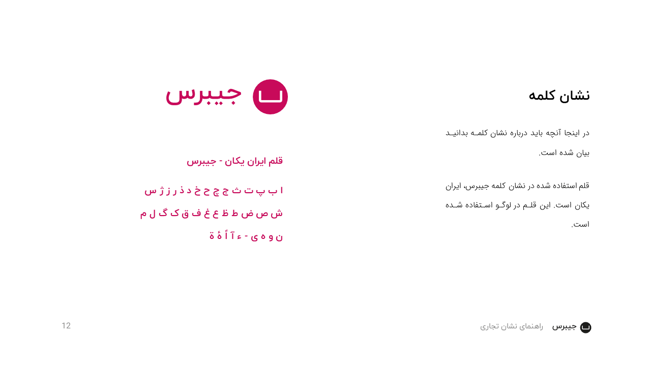 Jibres Logo Style Guide Persian Page12