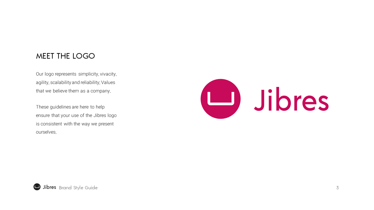 Jibres Logo Style Guide Page3